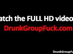 Русское порно вместе с куда пьяными тёлками